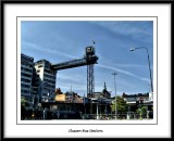 Slussen bus station.