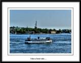 Boat trip from Slussen.