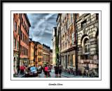 A busy street...