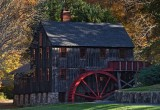 An old New England water powered mill
