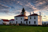 Jamestown RI. Beavertail light house.