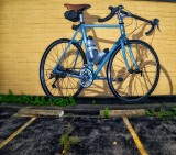 Please don't hit my bike