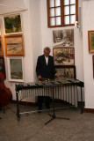 Playing on vibraphone