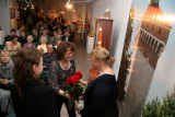 Congratulations for author of exhibition