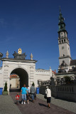 The Black Madonna the Queen of Poland Gate