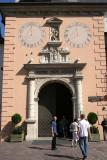Entrance into Basilica