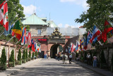 Flags and Gate