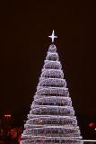 Christmas tree near Central Railway Station