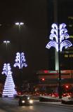 Christmas Illuminations - Emilia Plater Street
