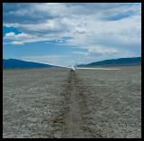 dry lake landout