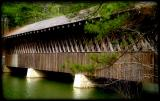 covered bridge at Stone Mountain