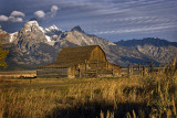 Barn Near Tetons
