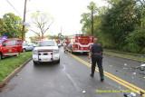 2 car crash- Dunhams Cr Rd near Church Ln