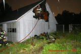 Garage Struck By Lightning