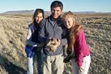 Un armadilla patagonico