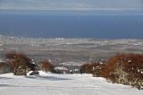 Club Andino de Punta Arenas, con vista al estrecho de Magallanes, Punta Arenas