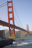 The Famous Bridge In San Francisco..  The GOLDEN GATE