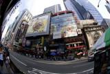 Times Square Fish Eye