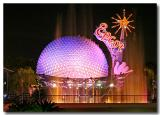 Epcot's dancing fountain