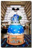 Walt Disney World sized snow globe