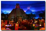 inside the Mexico pavilion