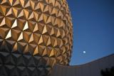 Spaceship Earth Sunset