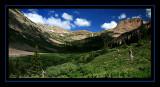 Ascending Columbine Pass