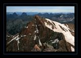 Vestal Peak from Mount Eolus