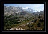 View from Burstall Pass