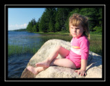 Serious Norah at Echo Lake