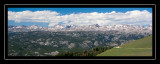 Clay Butte Overlook panorama