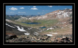 Goose Lake from the descent of Iceberg Peak