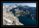 Glacier Lake from High Above