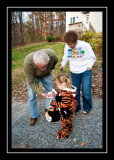 Trick or treat with Grandpa