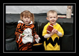Tiger and Charlie Brown