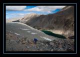 Ascending to Darwin Glacier