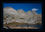Our Campsite in Dusy Basin