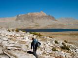 Approaching Desolation Lake