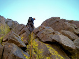 Rappeling the Summit of Thunderbolt