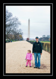 The first of many pictures of the Washington Monument