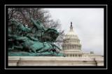 The Grant Memorial near the Capitol