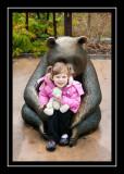 Norah and the panda