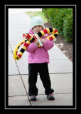 Kitty cat hat and snake