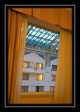 Norah's requested picture of the atrium from our hotel room