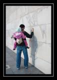 Up close at the Washington Monument