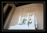 The mighyt Lincoln Memorial