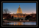 The Capitol in the early morning