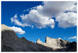 Clouds over East Temple Peak