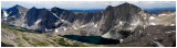East Fork Panorama from Glissade Peak