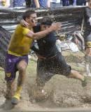 Oct. 7, 2008 - Muddy clash